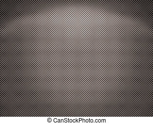 Perforated metal plate - The Perforated seamless silvery...