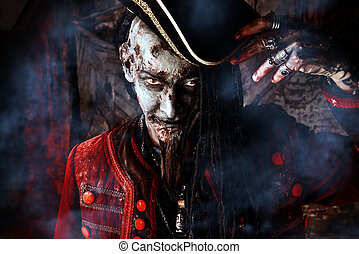 crafty pirate - Portrait of a noble brave dead pirate....