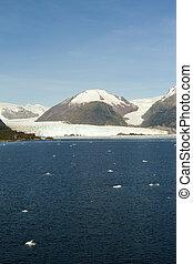 Chile - Amalia Glacier Landscape