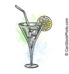 Vector illustration of wine tankard - Cool tankard isolated...