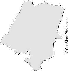 Map - Opolskie (Poland)