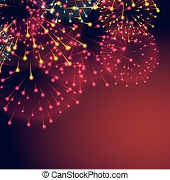 fireworks background for diwali festival