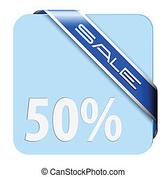 Blue card for big discount