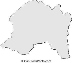 Map - Metropolitan Region (Chile)