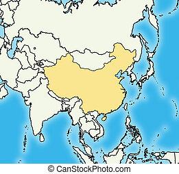 Map - China