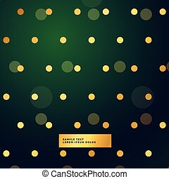 beautiful green background with polka dots