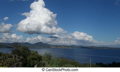 Bracciano Lake View - View above Bracciano Lake from...
