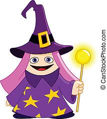 Little magician - Cute little magician