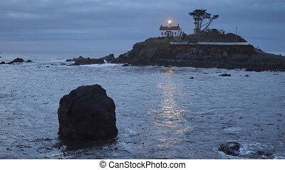 Crescent City California Pacific Coast Battery Point...