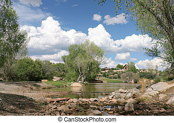 Fain Lake, Prescott Valley, Arizona - Fain Lake is a...