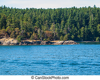 On the Water in Puget Sound Washington State USA
