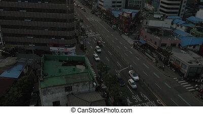 Cityscape of capital city Seoul in South Korea - SEOUL,...