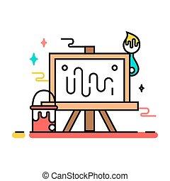 Art tools and materials