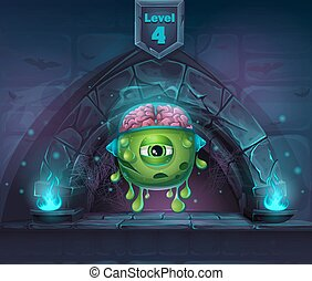 Monster with brains in Arch Magic in next 4th level