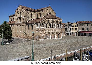 Island of Murano - Venice - Italy - The Church of Santa...