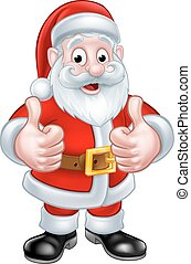 Santa Claus Christmas Cartoon Character - Santa Claus...