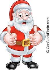 Santa Claus Christmas Cartoon Character - Santa Claus...