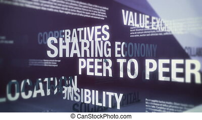 Sharing Economy Related Terms Seaml