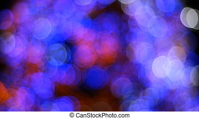 Blurred colorful bokeh christmas background