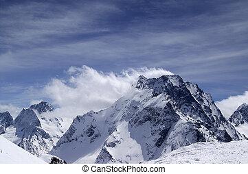 Caucasus Mountains. Dombay-Ulgen. - Caucasus Mountains....