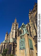 St-Etienne cathedral, Metz, Moselle, Lorraine region, France