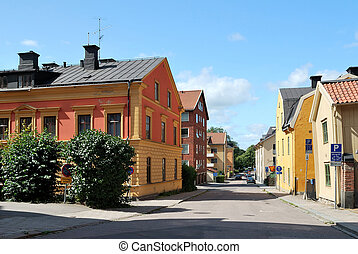 Beautifu street in Uppsala - Beautiful, quiet, cozy street...