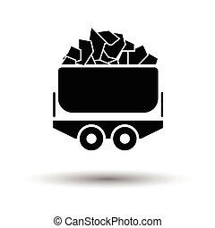Cradle icon Vector illustration - Cradle icon. Shadow...