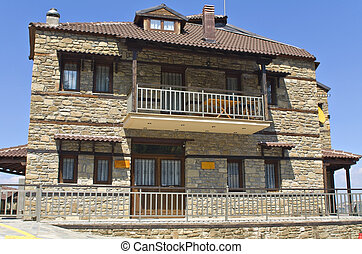 Stone traditional house at Greece