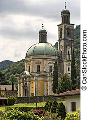 Church of Santa Croce at Riva San Vitale - The historic...
