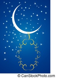 Stars, crescents and mosques.