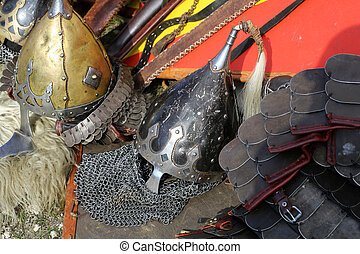 Cracow - Knight camp during the traditional Medieval...