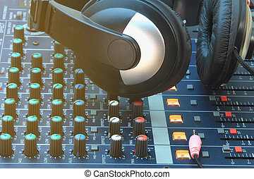 Analog music recording equipment