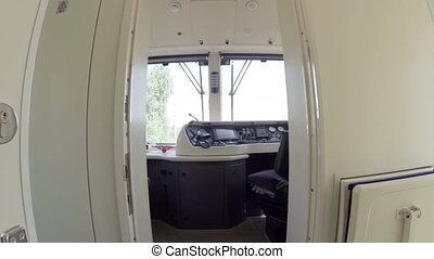 HD - Cockpit of the train