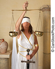 Scales Zodiac girl - Libra or Scales, this photo is part of...