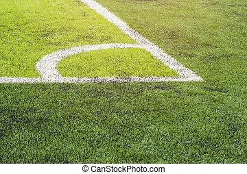 Connor soccer field