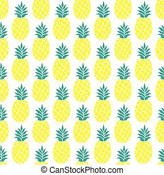 Pineapple vector background/Pineapple seamless pattern/Pineapple textile pattern. Isolated pineapple repeating background/Summer colorful pineapple textile print/Pineapple background for scrapbooking.
