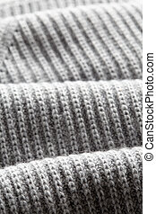 Knitwear texture background - A full page of navy grey...