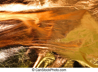 Incredible background with golden dunes and lights -...