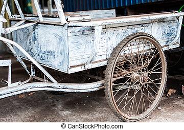 Old Tricycle vintage stye