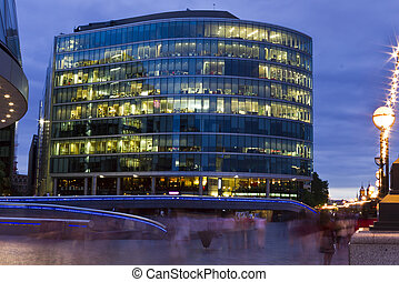 Office Building at twilight