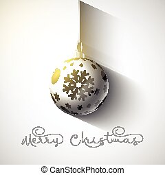 christmas bauble background 0710 - Christmas background with...