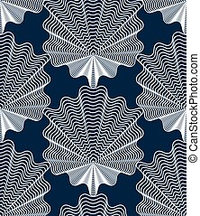 Geometric stripy seamless pattern, bright vector abstract...