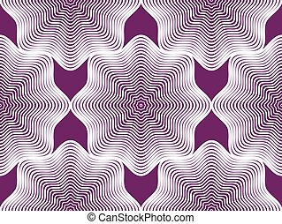 Vector bright stripy endless pattern, art continuous...