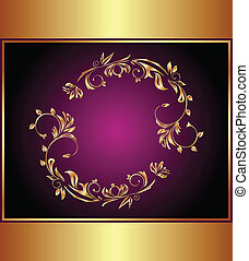 Background for design or packing - Illustration luxury...