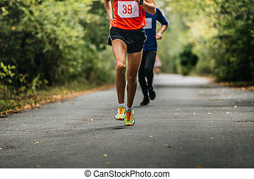young athlete runner