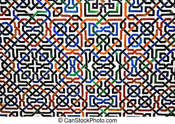 Magic geometry - Magical geometrical patterns in Islamic...