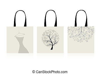 Shopping bags design