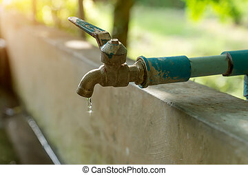 Defective faucet. Cause wastage of water