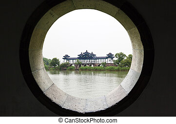 dai lake park in Wuxi city China - yuan-tou-chu dai lake...