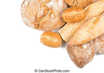 Composition with bread